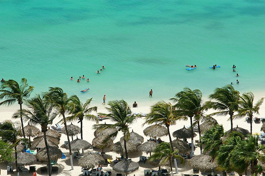 Aruba beach