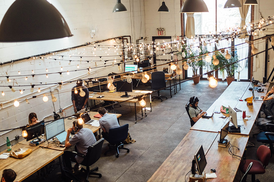 Consultation and maintenance of Co-working spaces