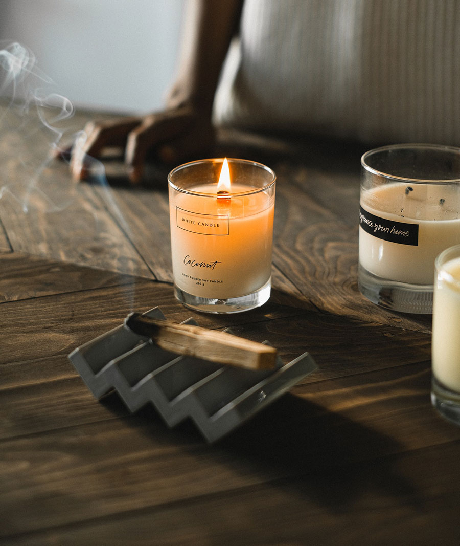 candle and scent stick
